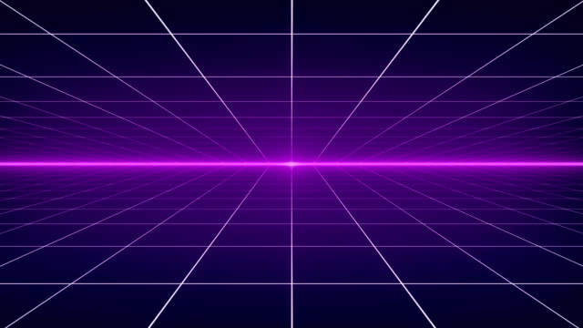Dynamic Retro Background - 4K Resolution - Loopable