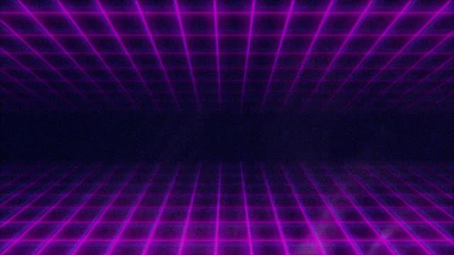 Dynamic Retro Background Pattern video