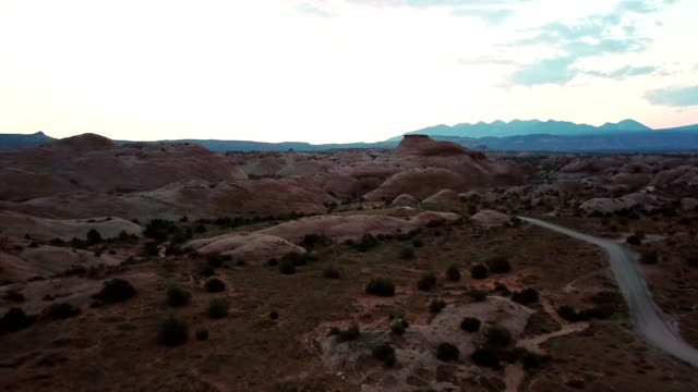 early morning in moab