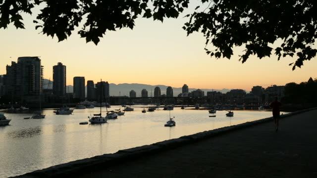 Early Morning Jog, False Creek, Vancouver video