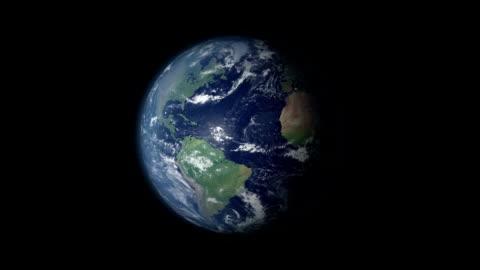 vídeos y material grabado en eventos de stock de earth zoom y rotación de 360 centrado en alemania - europa continente