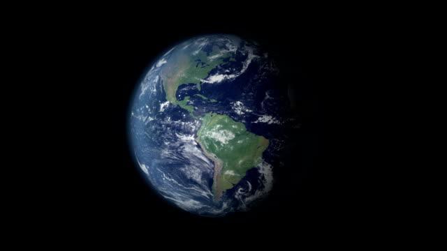 earth 360 rotation and zoom centered on sweden - sweden map bildbanksvideor och videomaterial från bakom kulisserna