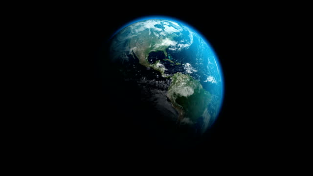 earth |  4k - loopable - world map stock videos & royalty-free footage