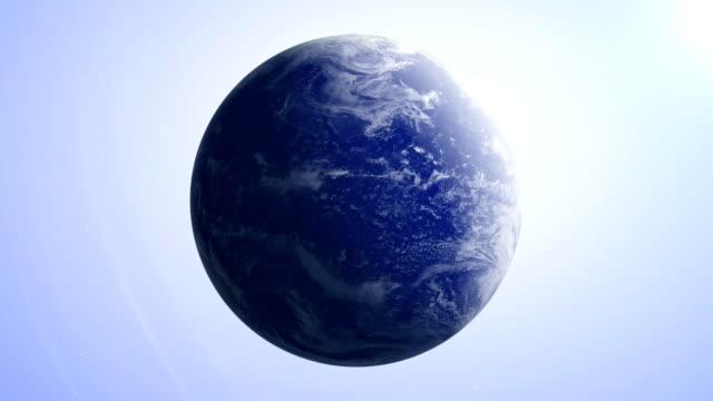jorden 7 - jorden världen video bakgrunden loop - earth from space bildbanksvideor och videomaterial från bakom kulisserna