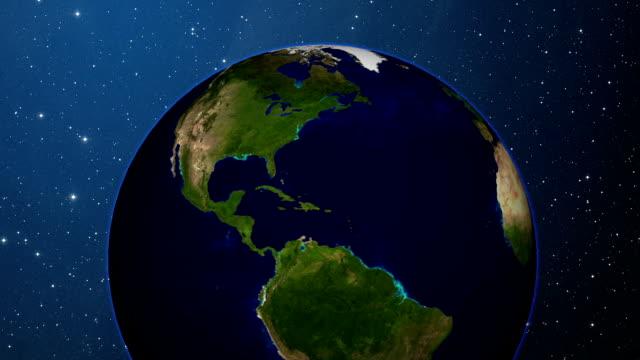 vídeos y material grabado en eventos de stock de tierra y luna orbitar - constelación