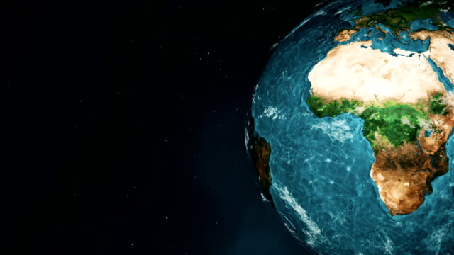 Earth Animated Water video