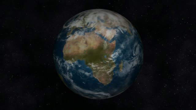 Earth Animation video