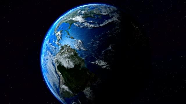 Earth Australia zoom. Tierra. video