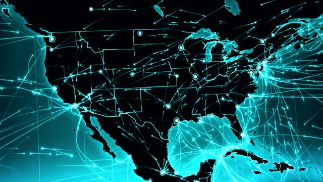 jorden-anslutningar. nordamerika och europa. - sweden map bildbanksvideor och videomaterial från bakom kulisserna