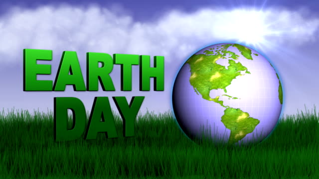 earth day concept - hd1080 - earth day stock videos & royalty-free footage