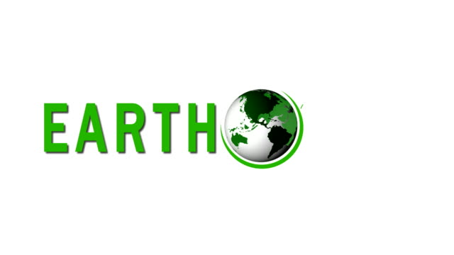 Earth Day. Planet Earth in moving. The world map on white background. 4K Video Earth Day. Planet Earth in moving. The world map on white background. 4K Video earth day stock videos & royalty-free footage