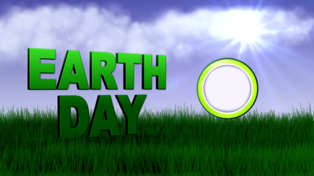 Earth Day Speech Ballon - HD1080 video