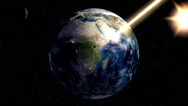 地球破壊 - 全壊点の映像素材/bロール
