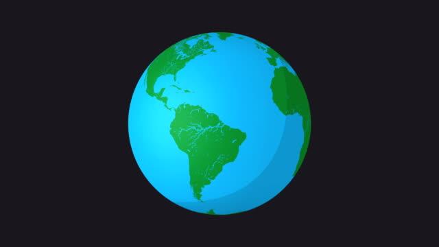 4k jorden från rymden vector animation, loop - land geografiskt område bildbanksvideor och videomaterial från bakom kulisserna