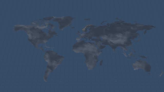 earth globe karta-norvay land karta med alfa kanal över gång i början och slutet - sweden map bildbanksvideor och videomaterial från bakom kulisserna