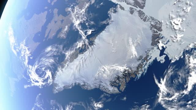 Erde Grönland tagsüber – Video