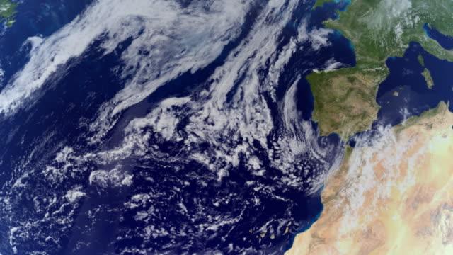 earth hd 30 fps seamless animation - ekvatorn latitud bildbanksvideor och videomaterial från bakom kulisserna