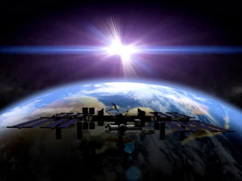 Earth International Space Station NTSC video