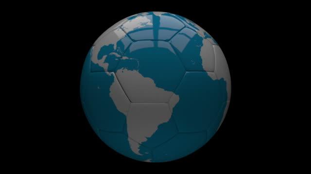 Erde Karte Soccer Ball – Video