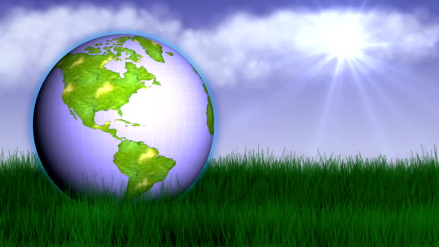 earth nature concept 2 - hd1080 - earth day stock videos & royalty-free footage