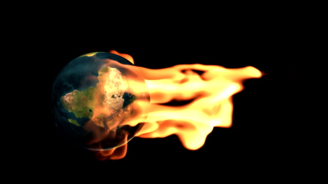 Earth on fire video