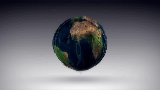 Earth Rain video