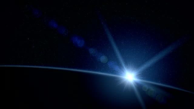 Earth Sunrise video