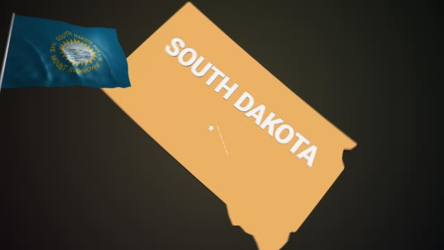 Earth USA South Dakota Night