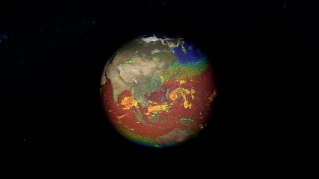 earth winds directions. nasa public domain imagery - континент географический объект стоковые видео и кадры b-roll