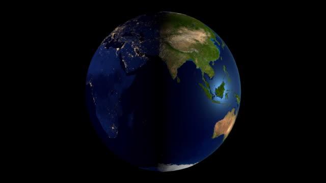 3D Earth/ world map video