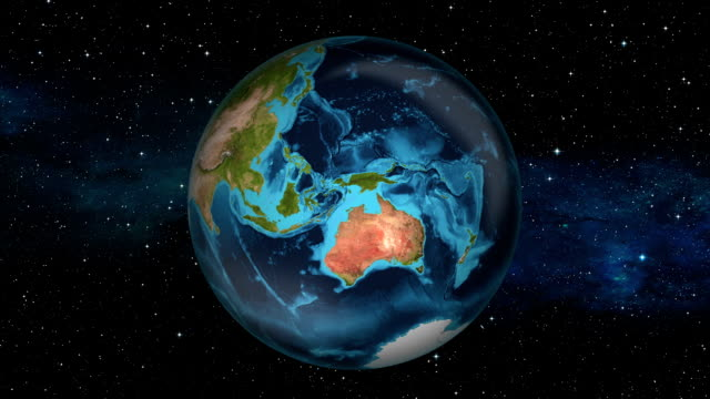 Earth Zoom In - Christmas Island - Flying Fish Cove video