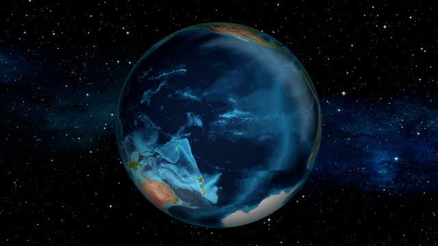Earth Zoom In - Fiji - Suva video