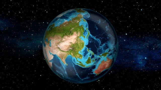 Earth Zoom In - Nepal - Kathmandu video
