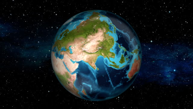 Earth Zoom In - Oman - Muscat video