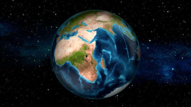 Earth Zoom In - Republic of the Congo - Brazzaville video