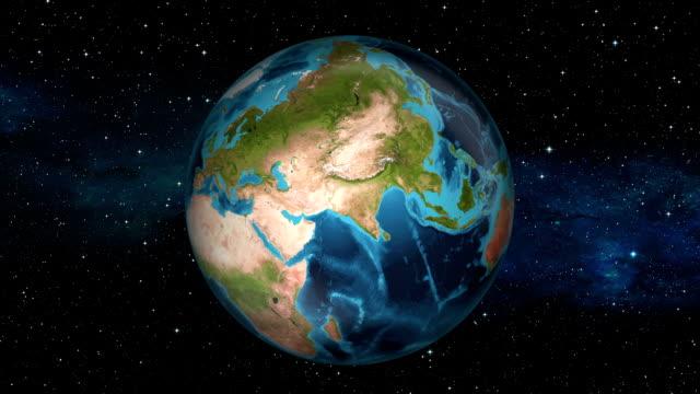 stockvideo's en b-roll-footage met earth inzoomen riyadh - saudi-arabië- - perzische golfstaten