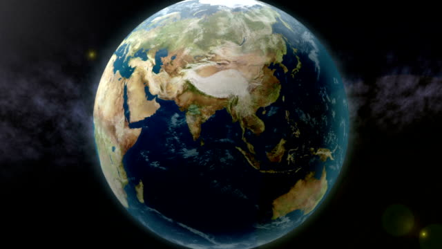 Earth Zoom to India Earth zoom to India. indian ocean stock videos & royalty-free footage