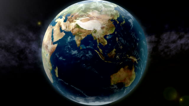 Earth Zoom to Indian Ocean Earth zoom to the Indian Ocean. indian ocean stock videos & royalty-free footage