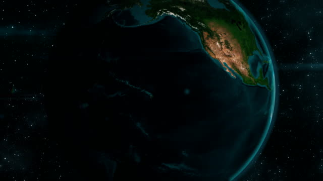 jorden zoom till nordamerika - 4 kilometer bildbanksvideor och videomaterial från bakom kulisserna