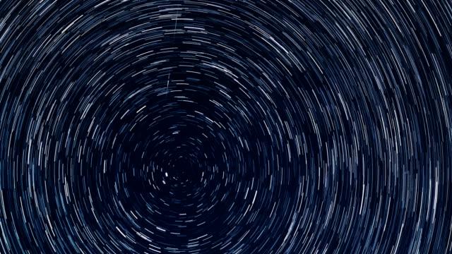 vídeos y material grabado en eventos de stock de la rotación terrestre - estrella del norte