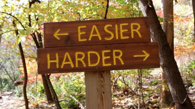 Easier or Harder.