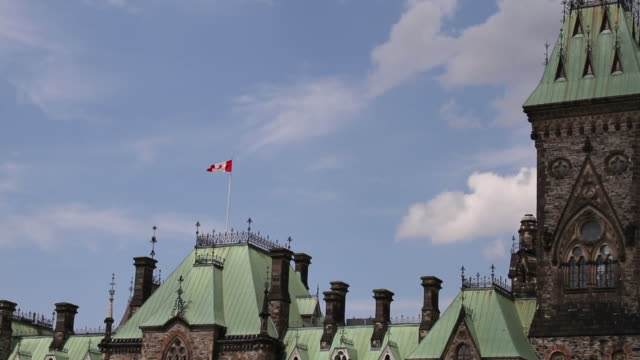 East Block of Canada's Parliament Buildings video