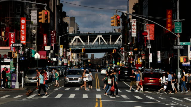 East Broadway in Chinatown NYC video