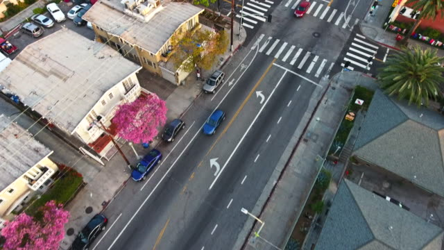 East Hollywood Aerial Pan To Los Angeles Skyline East Hollywood Aerial Pan To Los Angeles Skyline east stock videos & royalty-free footage