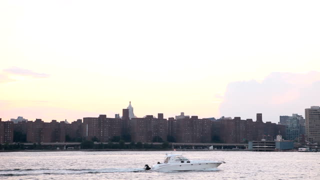 East River Cruising New York City video