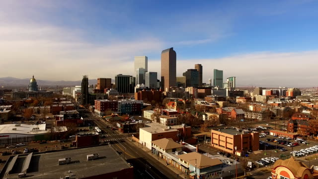 East Side Denver Colorado Capital City Downtown City Skyline