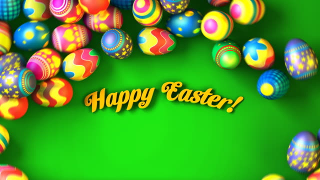 Easter background video