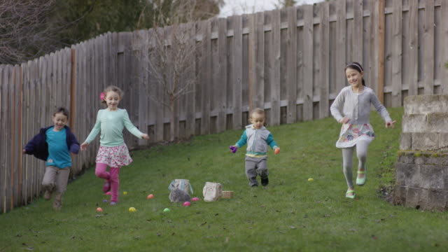 Easter egg hunt video