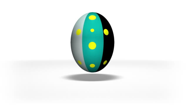 Easter eggs animation video