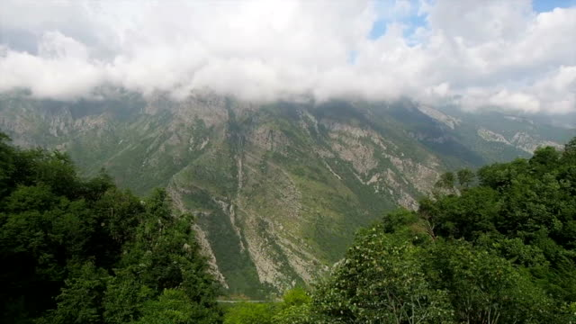 Eastern Europe Train Mountains View video